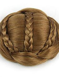 курчавые курчавые золота невеста переплетения человеческих волос монолитным парики шиньоны 2005