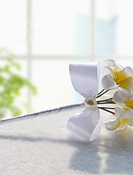 """Bouquets de Noiva Forma-Livre Lírios Buquês Casamento Festa / noite Poliéster Cetim Enfeite Espuma 7.09""""(Aprox.18cm)"""