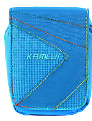 M Size Camera Case for Casio zr1000/zr1200/rx100  8*3.5*10 Blue