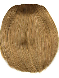 Wig Golden brown 8CM High-Temperature Wire knife style bangs Colour 2005