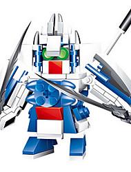 87006 головоломки игрушка строительные блоки, чтобы открыть интеллектуальный мальчик три серии - бог войны Liu Bei (2pcs)