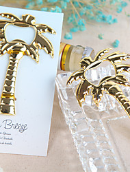 Ring Silver Bottle Favor-1Piece/Set Bottle Openers Beach Theme Non-personalised Gold