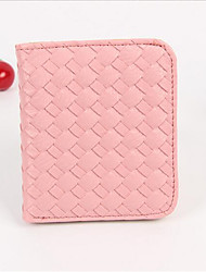 Women PU Casual Coin Purse Pink / Red / Black
