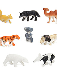 Animal Model Simulation Toy Tiger Dogs And Other Eight Sets Factory Direct Wholesale Children'S Day Gift