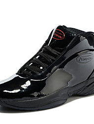 Men's Basketball Shoes Patent Leather Black / Red