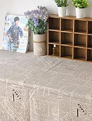 journal nappe mode hotsale de haute qualité draps en coton table basse carrée couverture en tissu éponge