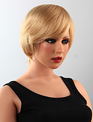 Stylish  Human Hair Wig Hair Short Wig 15 Colors to Choose