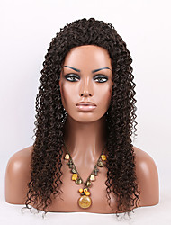 Free Shipping Malaysian Virgin Hair Lace Front Wigs Small Curly Wigs