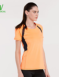 Running T-shirt / Tops Women's Quick Dry / Lightweight Materials / Sweat-wicking / Compression Running Sports Sports Wear