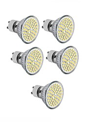 3.5 GU10 GU5.3(MR16) E26/E27 Spot LED MR16 60 SMD 2835 300-350 lm Blanc Chaud Blanc Froid Décorative AC 100-240 DC 12 AC 110-130 V 10
