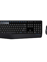 Original Logitech MK345 2.4Ghz Wireless Keyboard and Mouse Combo For PC Desktop Wireless Combo with NANO Receiver Black