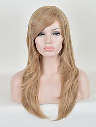 mode perruques perruques synthétiques droites blonds de qualité supérieure de la couleur