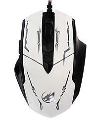 War Wolf 6D Wired Gaming Mouse 2400dpi Backlit Breathing Light for LOL/CF/DOTA