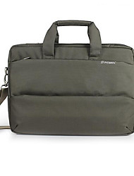 14 Inch Casual One-shoulder Korean Style Laptop Case Gray