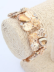 Bracelet/Wrap Bracelets Alloy / Acrylic Wedding / Party / Casual Jewelry Gift Dark Blue / Gold / White / Green,1pc