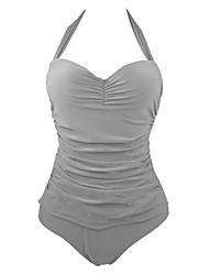 Summer Retro Female's Swimwear White