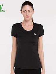 Running T-shirt / Tops Women's Quick Dry / Compression / Lightweight Materials / Sweat-wicking Running Sports Sports Wear