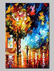 grandes pintados à mão moderno paisagem pintura a óleo sobre tela foto arte da parede, com quadro esticado pronto para pendurar