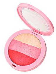 3 Rouge Trocken Kompaktpuder Rosig Gesicht Mehrfarbig China by nanda