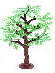 areia paisagem enfeites de resina modelo de mesa simulação da planta árvore de micro e mais carne de mini 2pcs jardinagem