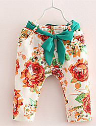 2016 Printed Leggings For Girls Kids Summer Pants Children Spring Trousers Baby Girl Flower Leggings Toddler Girl