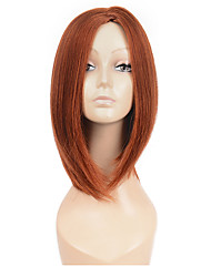 Natural Middle Brown Color Popular Synthetic Wig For Woman