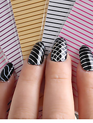 5PCS Nail Art Line Wavy Lines Straight Stick Plane Is Stuck