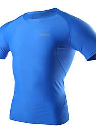 Homens Corrida Roupas de Compressão Calças Compressão Primavera Verão Moda Esportiva Corrida Apertado