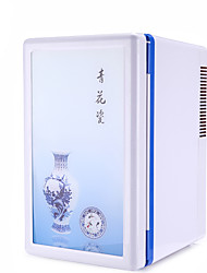 Ci Baijia 16L Mini Refrigerator Car Home Dual Heating and Cooling Box Single Small  Dormitory Refrigeration