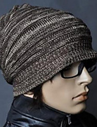 Men Knitwear Beanie/Slouchy , Casual Winter Christmas Gifts