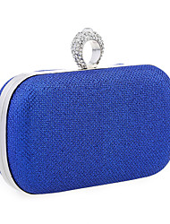 Women-Formal / Event/Party / Wedding-Glitter-Clutch-Blue / Gold / Red / Silver / Black