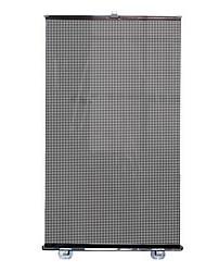 pvc 50 * 125 centímetros guarda-sóis de pára-brisa