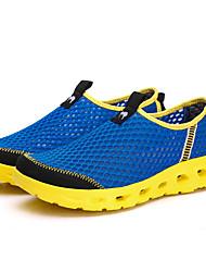 Femme Confort Tulle Décontracté Chaussures d'Eau Confort Talon Plat Gris Fuchsia Vert Bleu Kaki