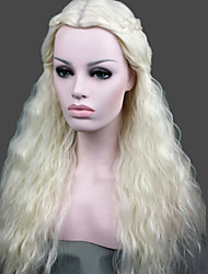 Cosplay wig Game of Thrones Daenerys Inspired Lady's Fashion Sexy Party Cosplay Synthetic Hair Wig/Wigs