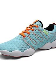 Беговая обувь Синий / Зеленый Обувь Мужской Тюль