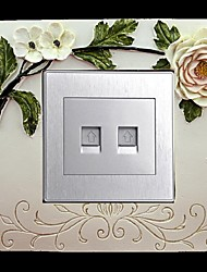 Exquisite Creative Three-dimensional Pierced Decorative Switch Stickers