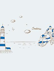 Archtektur / Worte & Zitate / Stillleben / Mode / Landschaft / Freizeit Wand-Sticker Flugzeug-Wand Sticker,PVC 90*60*0.1