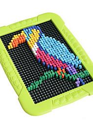 Kinder Aufklärung der frühen Kindheit DIY Puzzle-Bildungs-Spielzeug Intelligenz Papier Perspektive Cartoon Vögel 700