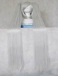 cosplay perruque de mode synthétique cheveux femme super-longue ligne droite d'animation de bande dessinée de perruques perruques pleine