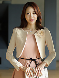 Wedding / Party/Evening Polyester Shrugs Long Sleeve Women's Elegant Sweet Wrap