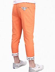 Pantalones Boy-Todas las Temporadas-Algodón-Retazos