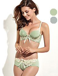 ONICE® 3/4 cup Bras & Panties Sets,Underwire Bra Polyester