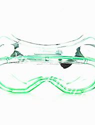 polycarbonate anti-poussière anti-buée des lunettes de protection anti-rayures myopie applicable