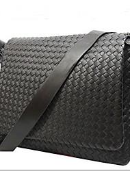 Men PU Outdoor Shoulder Bag Blue / Brown / Black