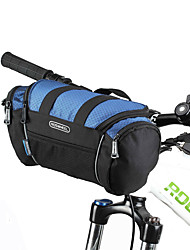 ROSWHEEL Bike BagBike Handlebar Bag Shoulder Bag Waterproof Zipper Moistureproof Shockproof Wearable Bicycle Bag PVC 600D PolyesterCycle