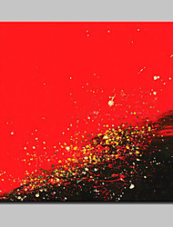 Peint à la main Abstrait Peintures à l'huile,Modern Un Panneau Toile Peinture à l'huile Hang-peint For Décoration d'intérieur
