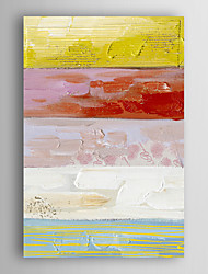 Hand Painted Oil Painting Abstract Colour-Ⅱwith Stretched Frame 7 Wall Arts®