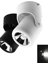 Jiawen 7w blanc froid / marm lampe blanche cob projecteurs / fond clair (ac 85-265)
