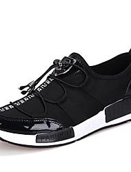 Chaussures Noir / Blanc Synthétique Marche Femme