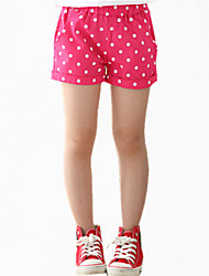 Girl's Blue Shorts,Dresswear Cotton Summer